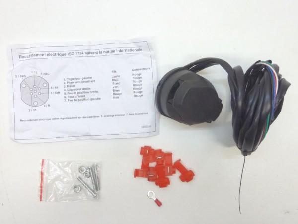 Elektrosatz für AHK, mit 7-poliger Kunststoffsteckdose, A1