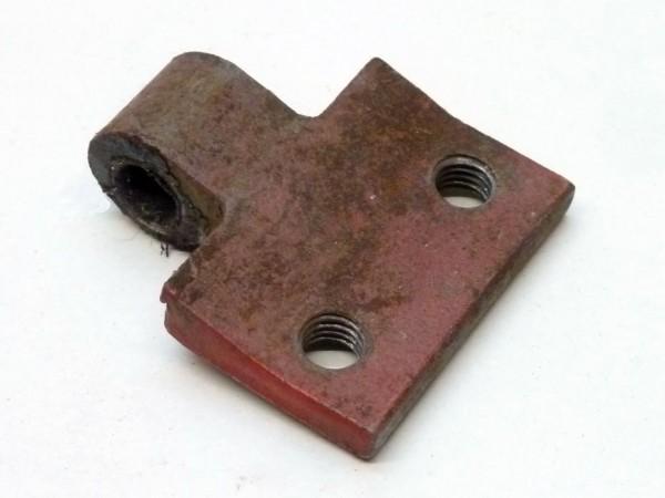 """Türscharnierhälfte, """"späte"""" Form, für 8 mm-Stift, A3"""