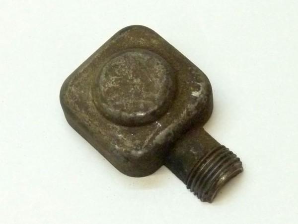 Gehäuse f. Kabelanschluß an Lichtmaschine, rechts oben, eckig,A3