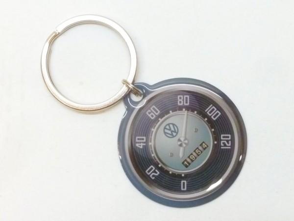 Schlüsselanhänger Tachozifferblatt, A1