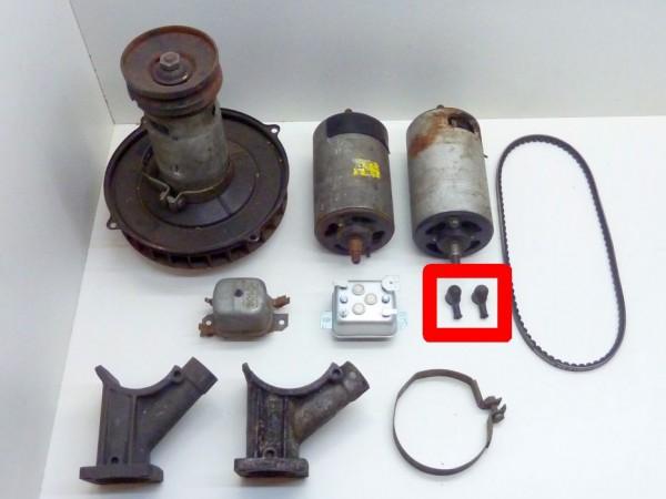 Gummikappe für angeschraubtes Kabel an Lichtmaschine, A1