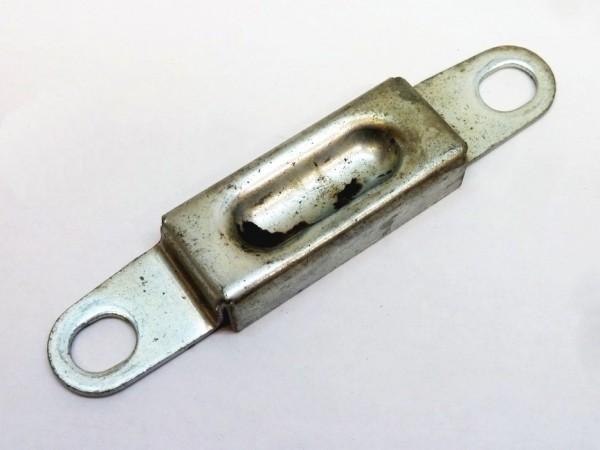 Schließplatte für vorderes Schloß mit Gummipuffer, A3