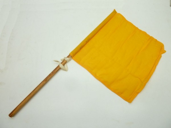 Flagge, gelb, A1