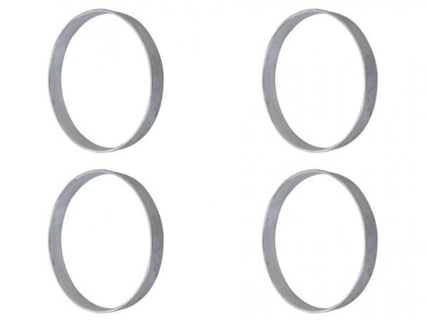 Adapterringe für Zylinderköpfe, 4er-Satz, B1