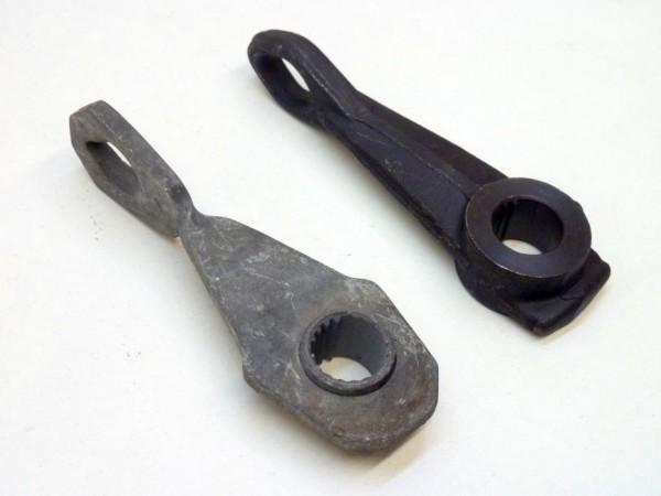 Hebel an Ausrückwelle, Loch-Ø 16 mm, gerade, X1