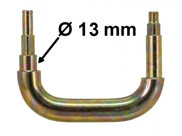 Bügel für hintere Führung, Bolzen-Ø 13 mm, verzinkt, B1