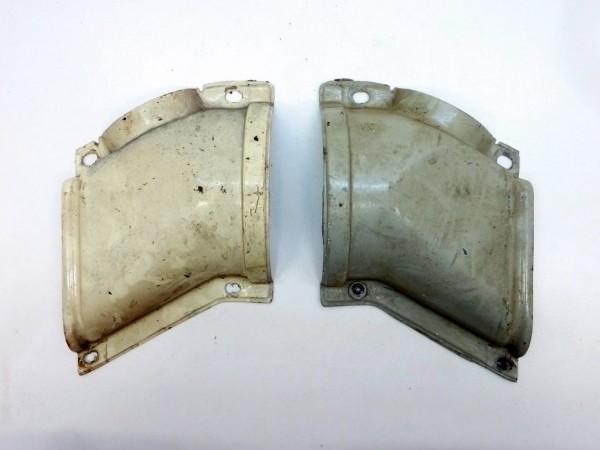 Abdeckung für Frischluftkanal, -7/72, mit Luftkanal an Tür, A3