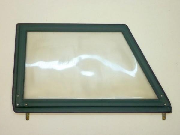 Steckfenster ohne Ausstellfenster,grün,vo. re. o. hi. li.,A1/NOS