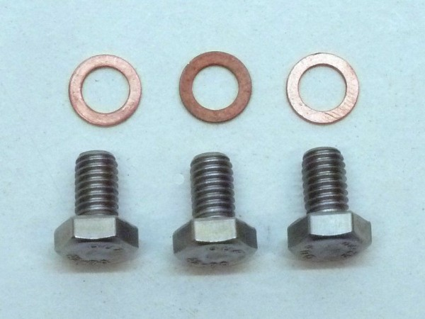 Verschlußschrauben+ Dichtringe für Thermostatgewindelöcher, A1