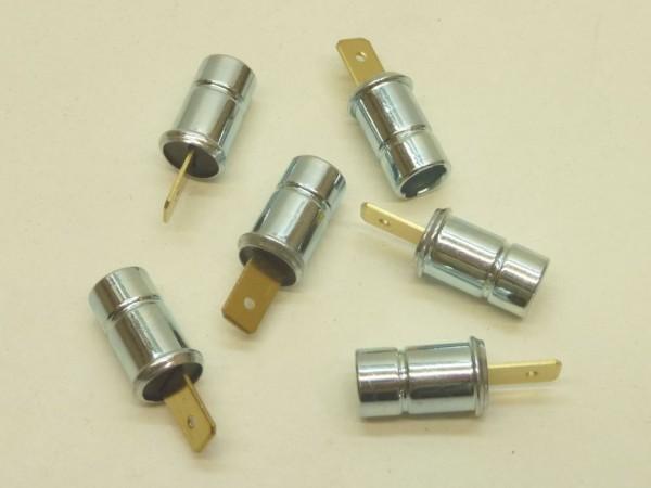 Fassungen für Instrumentenglühlampen,mit Steckanschluß,6er,A1