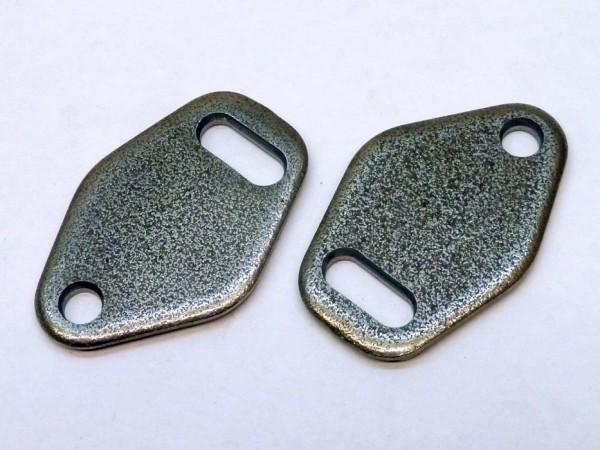 Verschlußplatten für einfaches Vorwärmrohr, Paar, A1