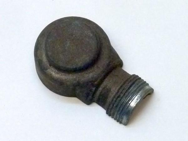 Gehäuse f. Kabelanschluß an Lichtmaschine, links oben, rund, A3