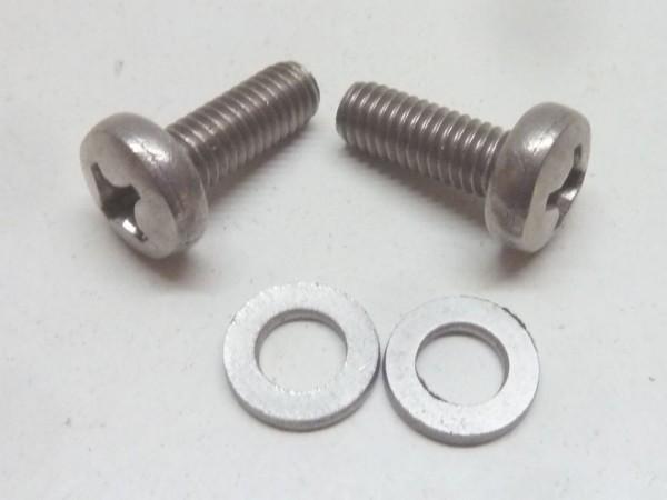 Anbausatz für Motorklappenschließblech, Edelstahl, A+1