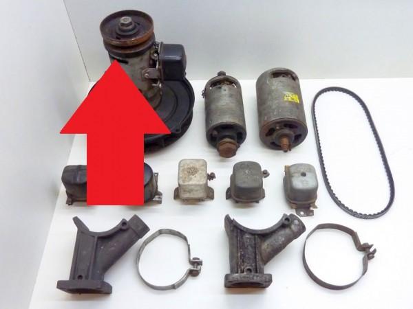 Schleifkohlen für 90 mm-Lichtmaschine, Paar, A1