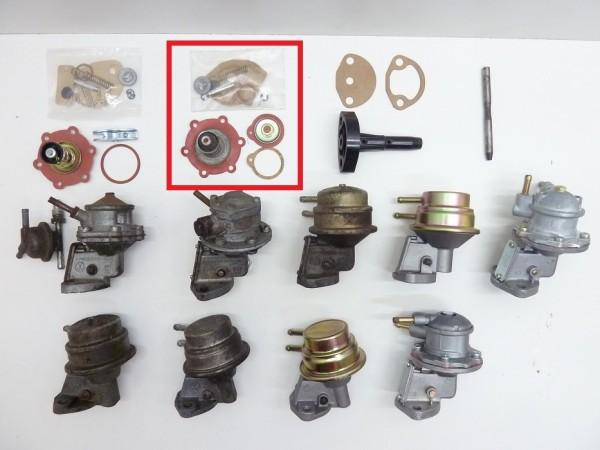 Reparatursatz für Benzinpumpe mit rechteckigem Deckel, B1