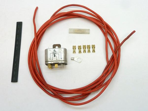 Entlastungsrelais für Zünd-/Anlaßschalter, 6 V, mit Anbausatz, A3