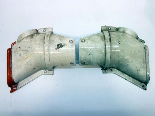 Abdeckung für Frischluftkanal, 8/72-, mit Luftkanal an Tür, A3