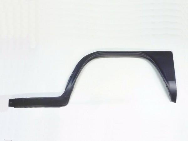 Reparaturblech f. Kniestück, außen links, mit Einstieg, 8/71-,C1