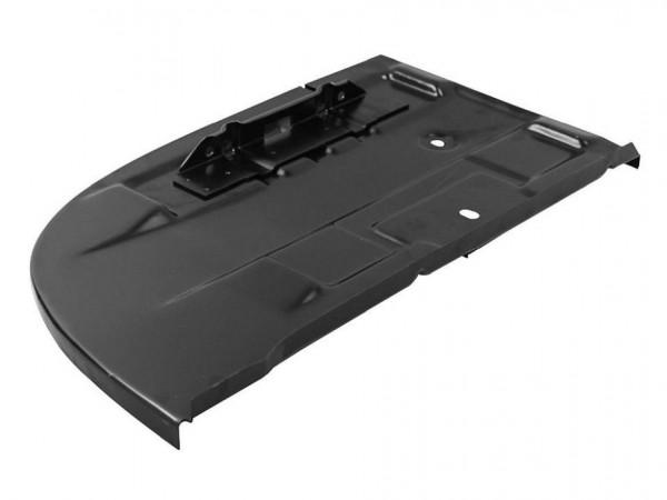 Abdeckblech im Motorraum, links, 8/71-, mit Batteriehalter, B1