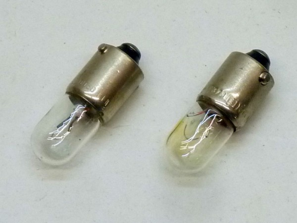 Glühlampen, Kugel, 12 V/4 W, Paar, A1