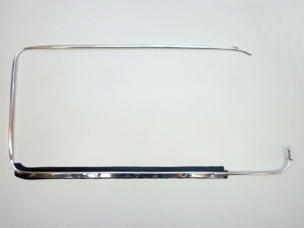 Zierrahmen für Türscheibe, rechts, C1