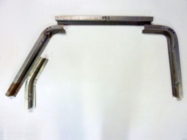 Reparaturbleche f. Kotflügelschraubkante, vo. rechts,4er-Satz,B1