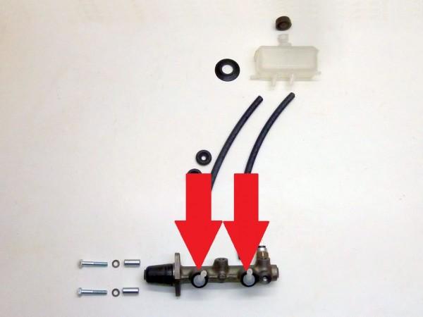 Stopfen in Hauptbremszylinder, für Nachlaufleitungen, Paar, A1