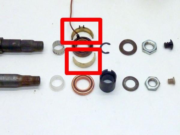 Isolierschale für Lenkrohrlager, 8/67-7/70 bzw. 2/73, A3