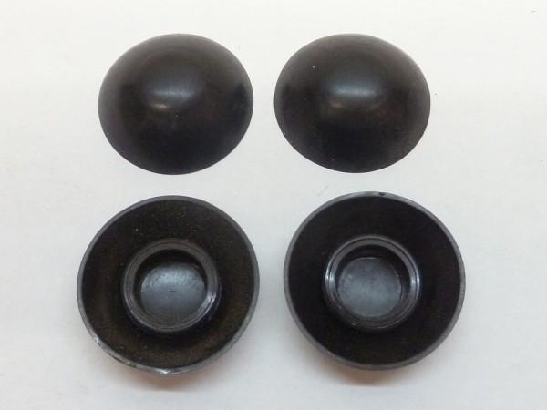 Abdeckkappen für Sechskantschrauben mit SW 13, schwarz, 4-er-Satz, A1