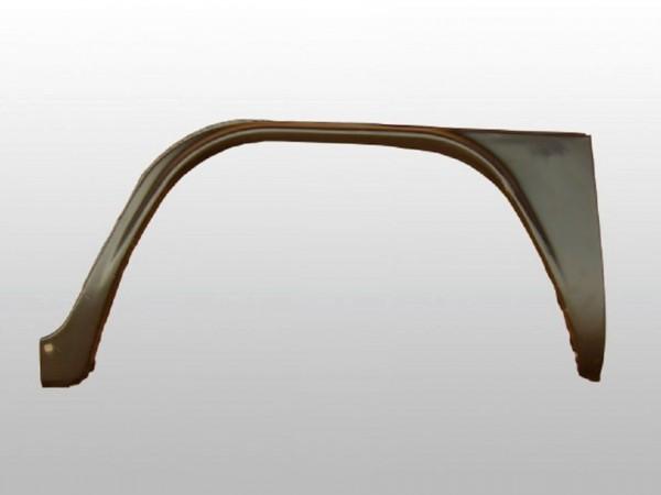 Reparaturblech f. Kniestück, außen links,ohne Einstieg, 8/71-,C1