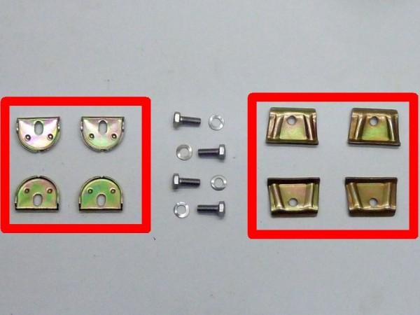 Halteplatten für Tank, 4er-Satz, XX