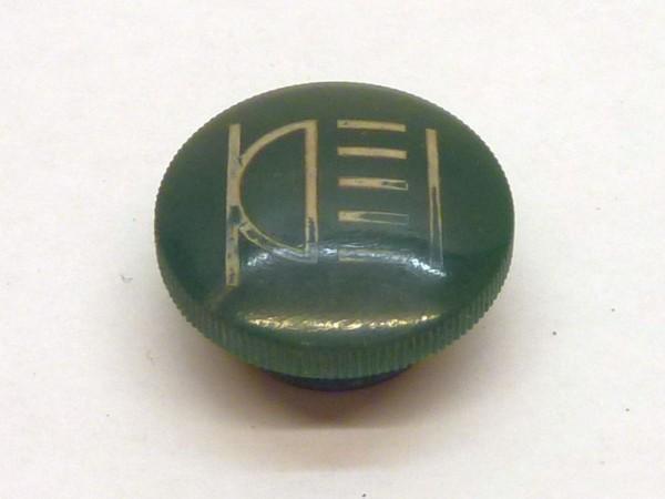"""Glas für """"mittelgroßen"""" Schalterknopf, grün/Lampe, A3"""