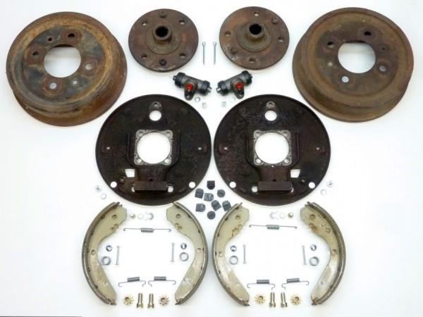 Bremsanlage, hinten, Typ 3/ 4-Loch, komplett, A2