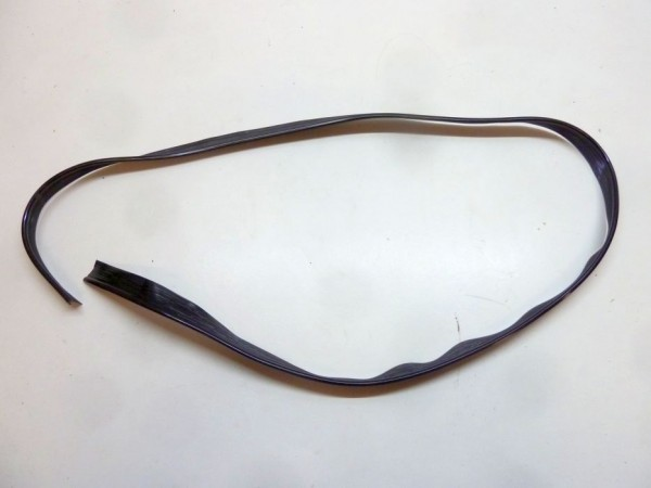 Kotflügelkeder, 1,9 m-Stück, schwarz, A1