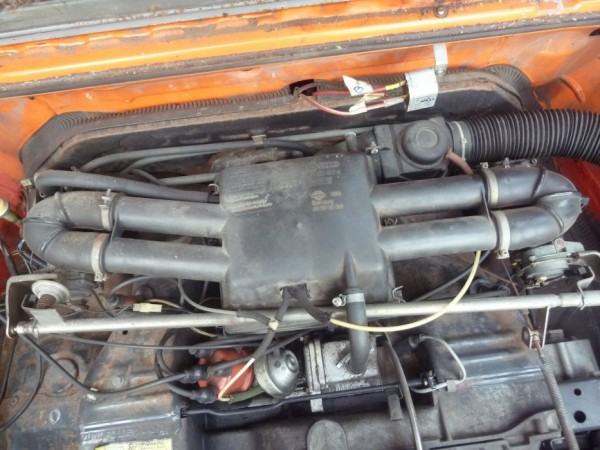 Luftfilteranlage, T3 mit CU-Motor, komplett, A3