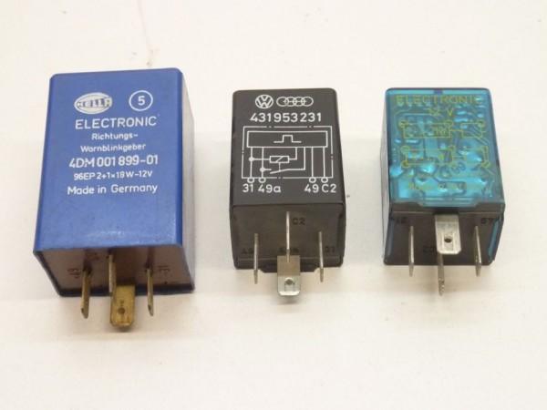 Blinkrelais, 12 V, für Anhängerbetrieb, universal, A3