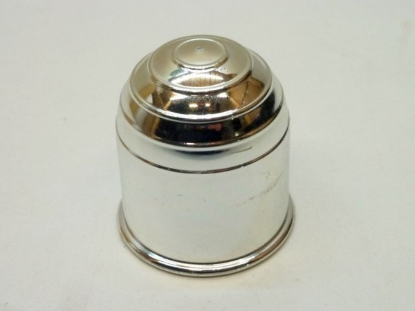 Abdeckkappe für Anhängerkupplungskugel, Kunststoff, verchromt,A1