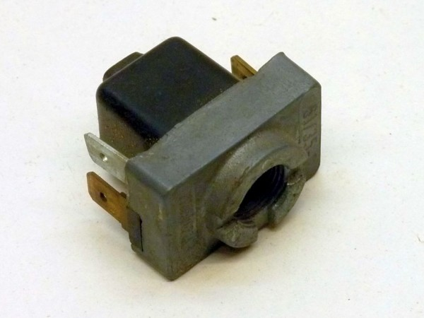 Schalter mit Kontakt für Kontrolleuchte, Gewinde M12, A3