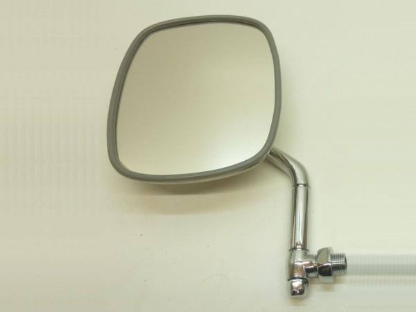 Außenspiegel, links, normal lang, Arm verchromt, Rücken Edelstahl, B1