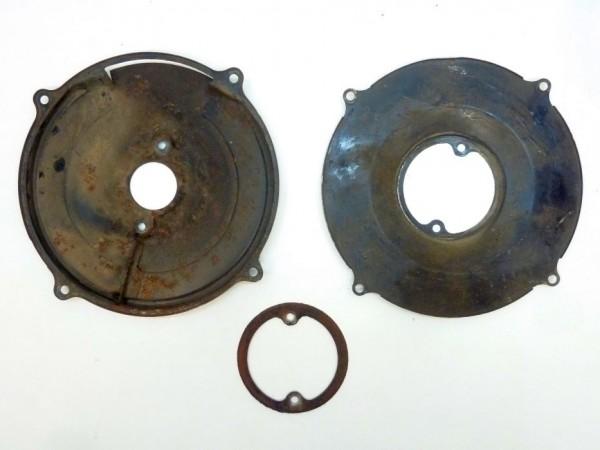 Abdeckplatte an Gebläsekasten, für 105 mm-LiMa, 12 V/38 A, A3