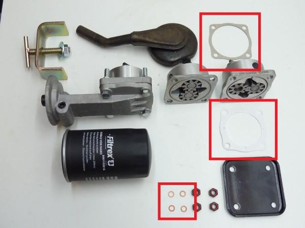 Dichtsatz für Ölpumpe mit 6 mm-Löchern, A1
